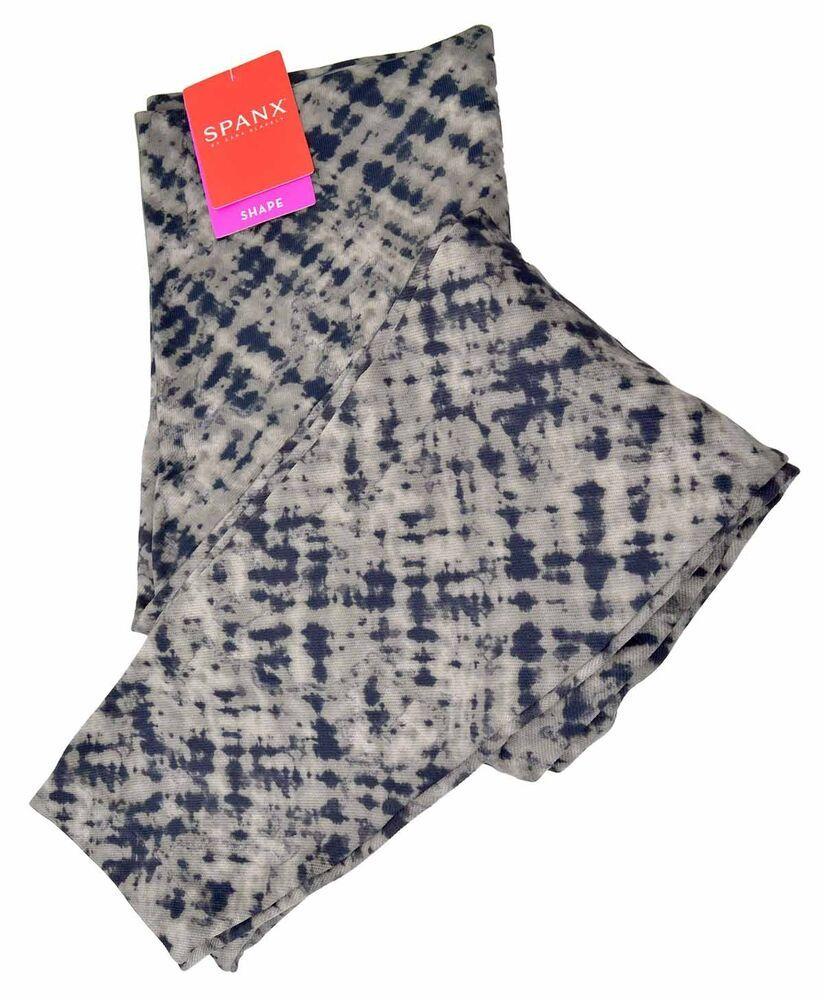57c89b5276c SPANX -Women s Look At Me Now Cropped Printed Seamless Leggings NWT  68   Spanx  ActivewearLeggings