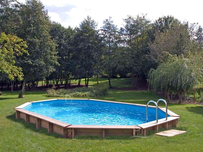 Piscina fuori terra in legno JARDIN 815 Backyard pool