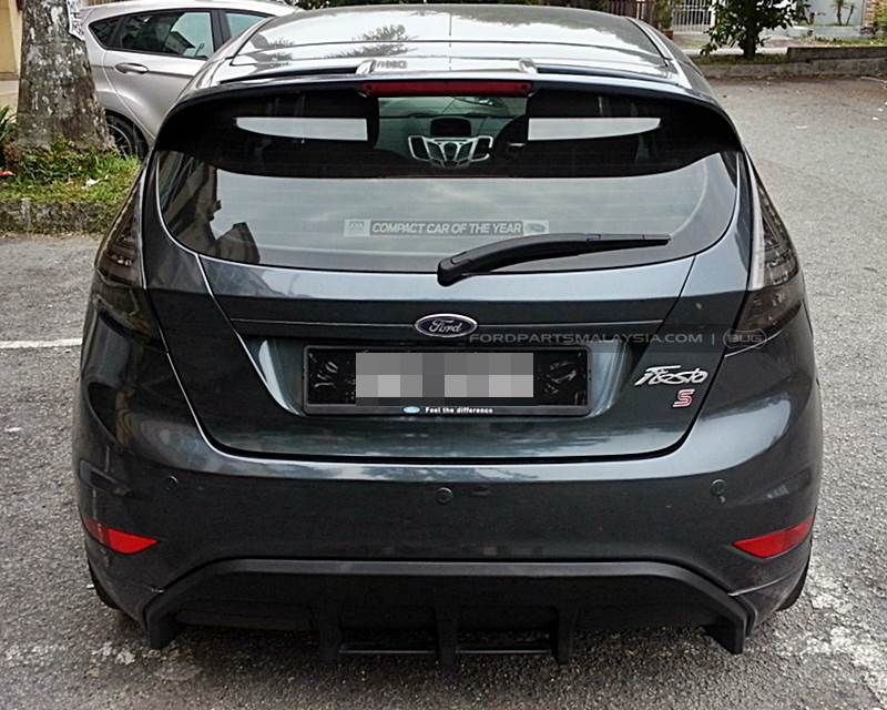 Led Taillights With Light Bar Ford Fiesta 08 13 Ford Fiesta