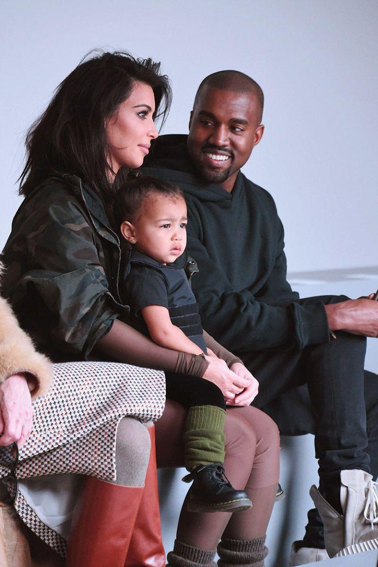 Kim Kardashian And Kanye West Baby 2015