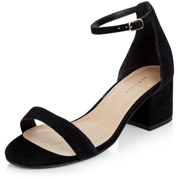 New Look Black Leather Block Heel Sandals ($33) </p>                     </div>   <!--bof Product URL --> <!--eof Product URL --> <!--bof Quantity Discounts table --> <!--eof Quantity Discounts table --> </div>                        </dd> <dt class=