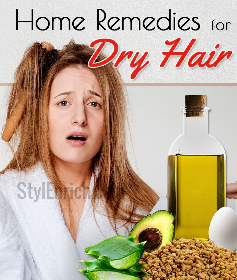 Home Remedies for Dry Hair Bring Those Locks Back to