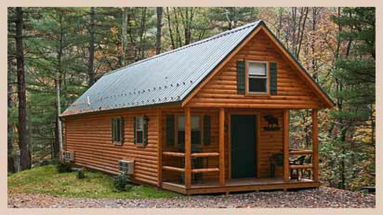 Small Hunting Cabin Floor Plans | Cabins and Cottages | Cabin plans