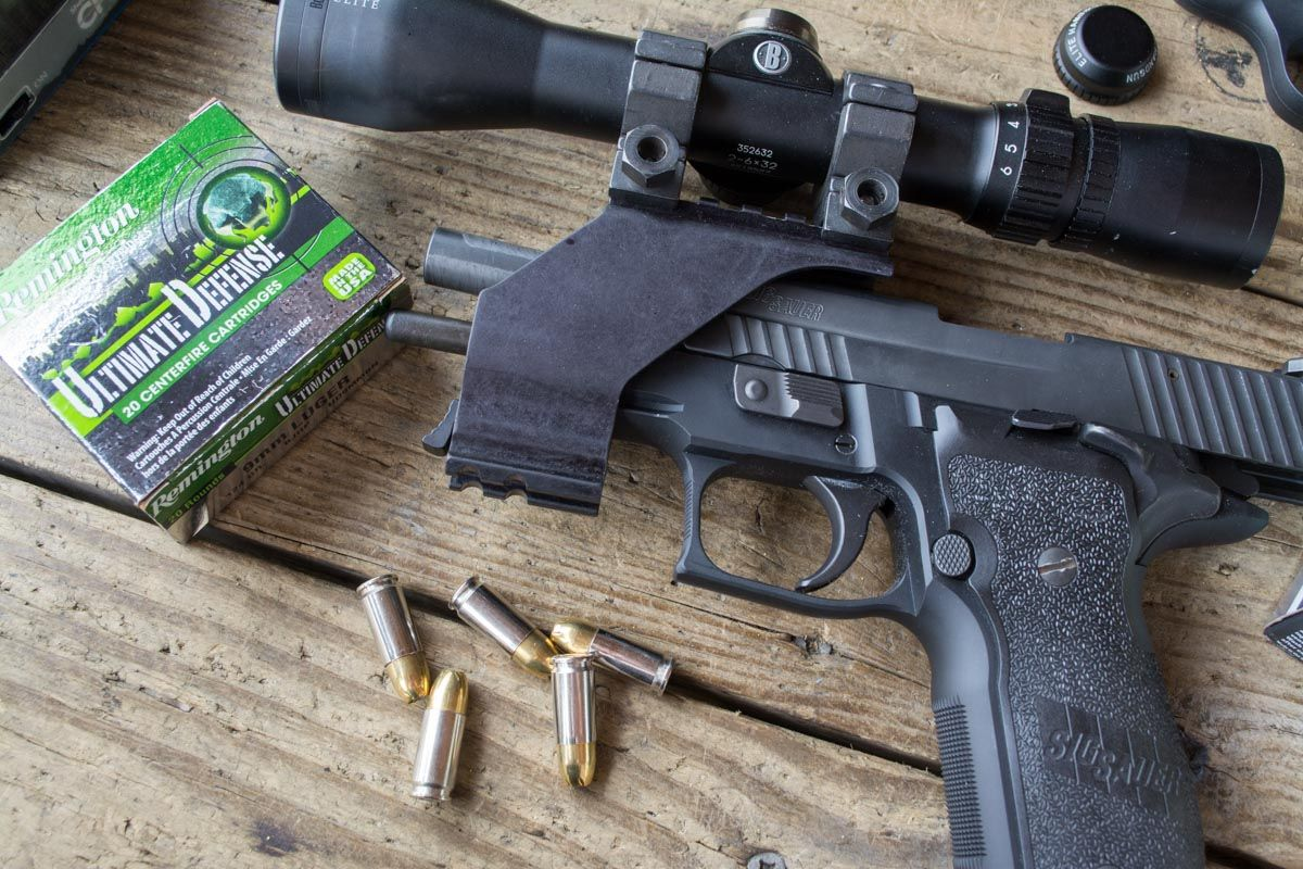 Ammo Test: Remington Ultimate Defense 9mm 124 Grain Full Size