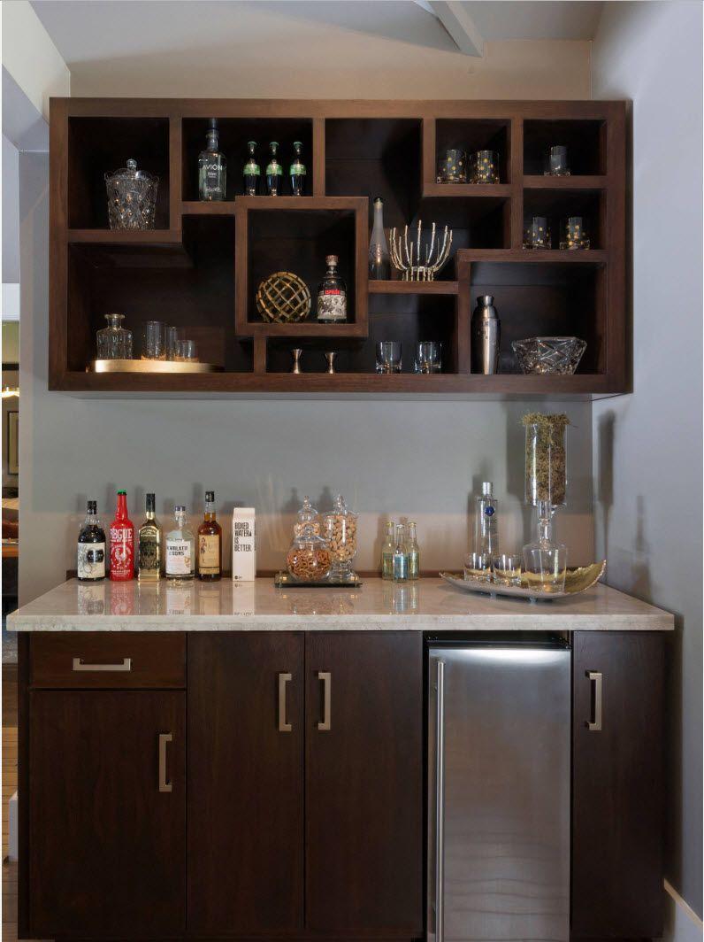 Corner Bar Setup For Living Room Living Room Bar Home