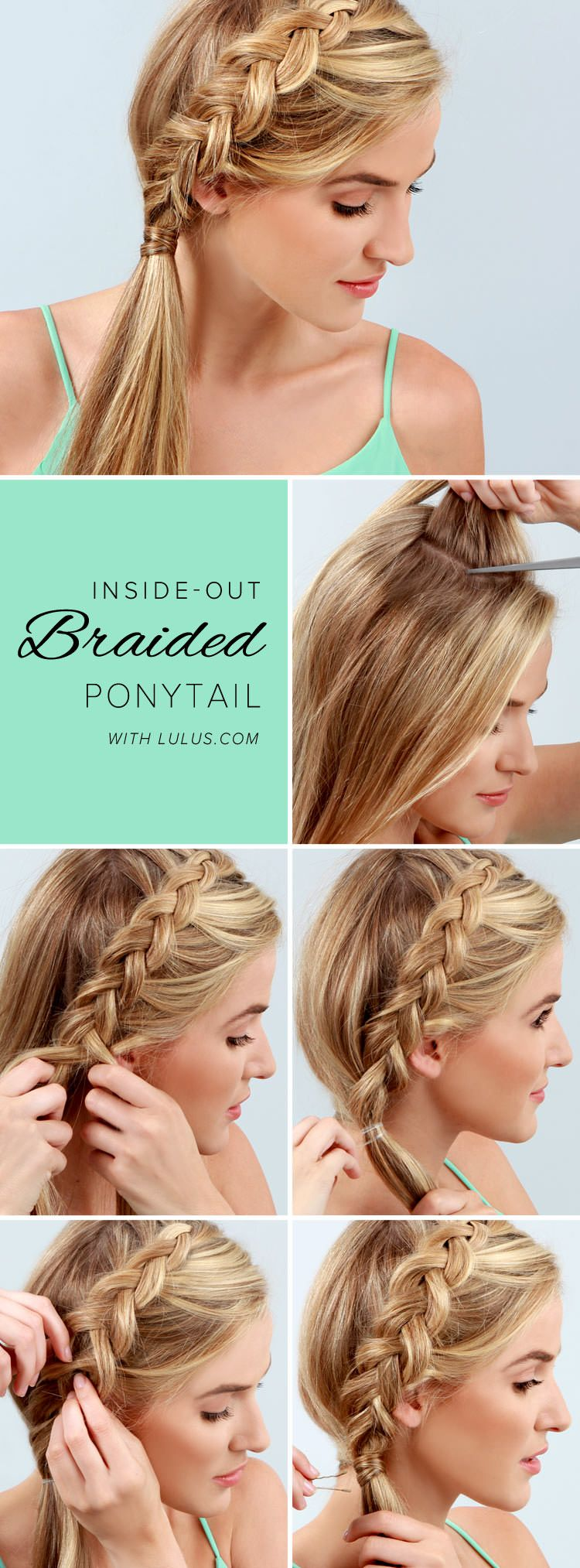 stylish swept away hairstyles for pretty girls ponytail