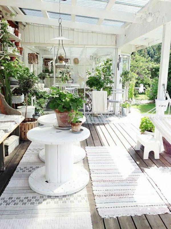 Wintergarten Einrichten Terrassengestaltung Bilder | Garten ... Richtige Einrichtung Wintergartens