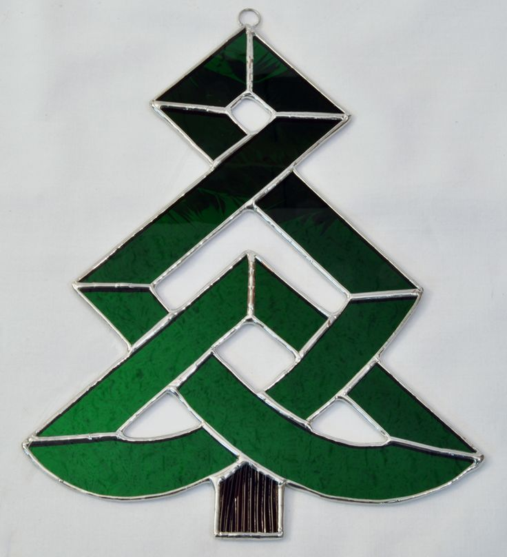 Attractive Christmas Stained Glass Ornaments Part - 3: Celtic Christmas Tree | Making Christmas | Pinterest U2026 More. Stained Glass  OrnamentsStained ...