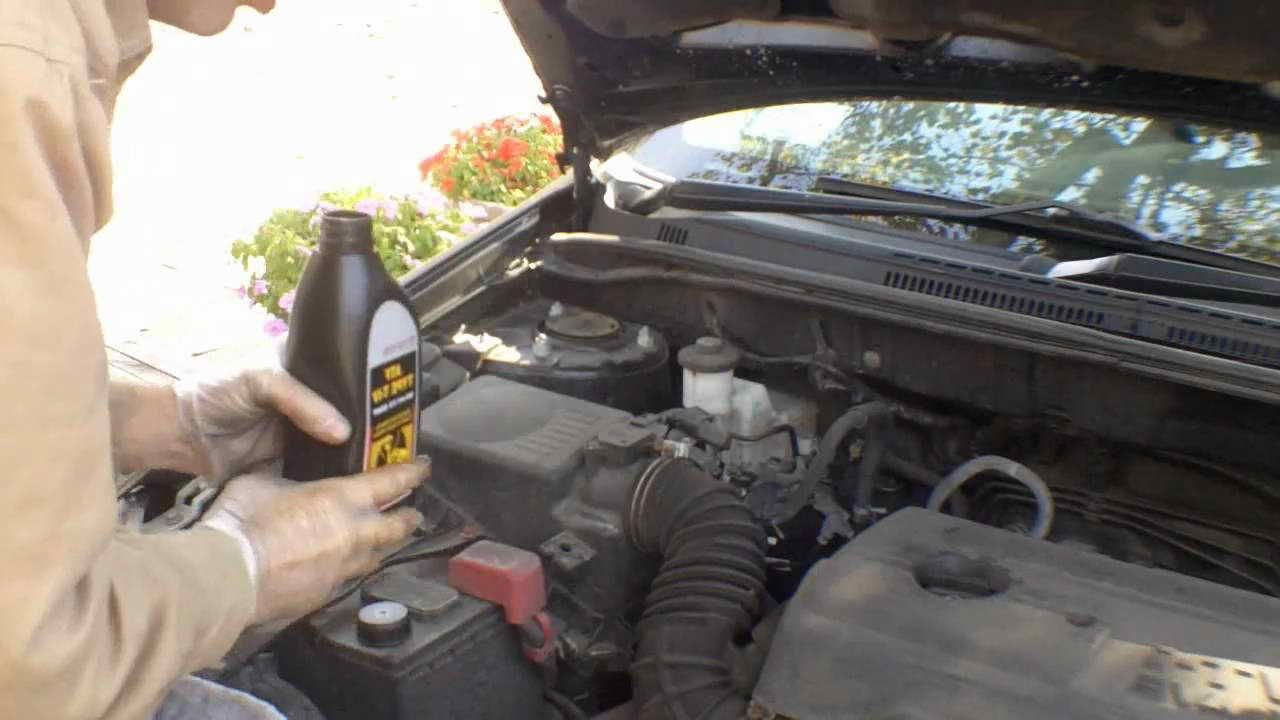 2001 Toyota Corolla Transmission Fluid Type