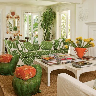 Our 60 Prettiest Island Rooms. Tropical Living ...