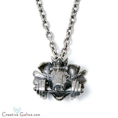 Royal Pig Necklace