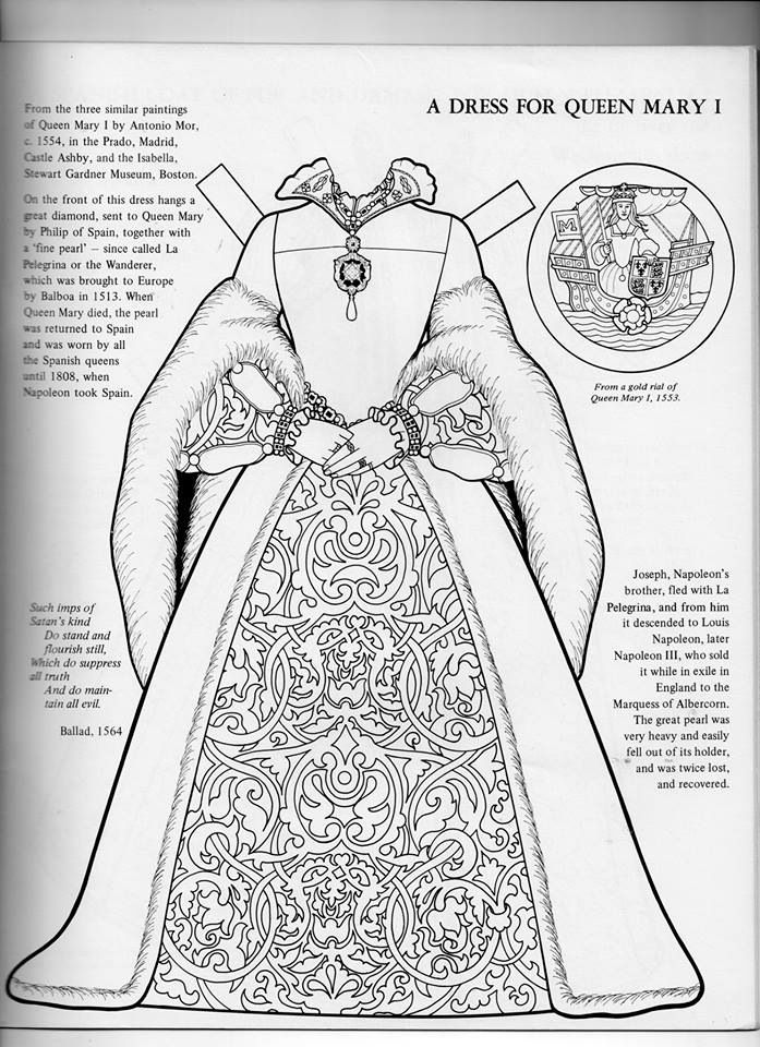 Pin By Petra Zlochova On Aaall Things Ren People Coloring Pages Paper Dolls Clothing Paper Dolls