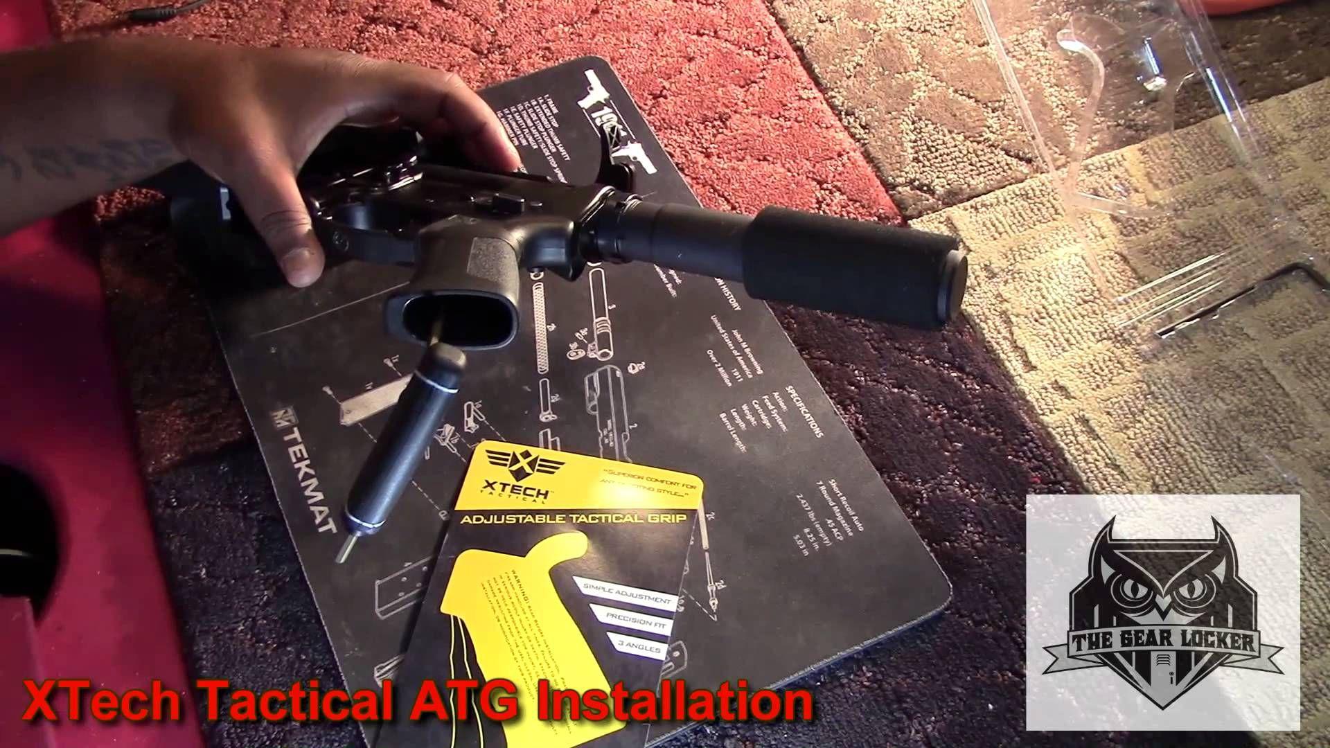 XTech Tactical ATG Installation vid by TheGearLocker net