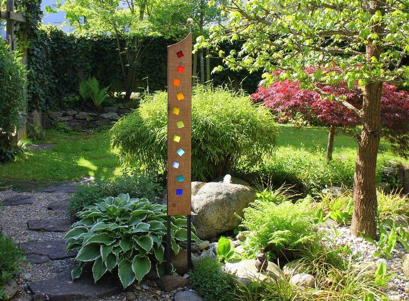 gartenstelen basteln | gartenstelen aus holz selber machen, Gartenarbeit ideen