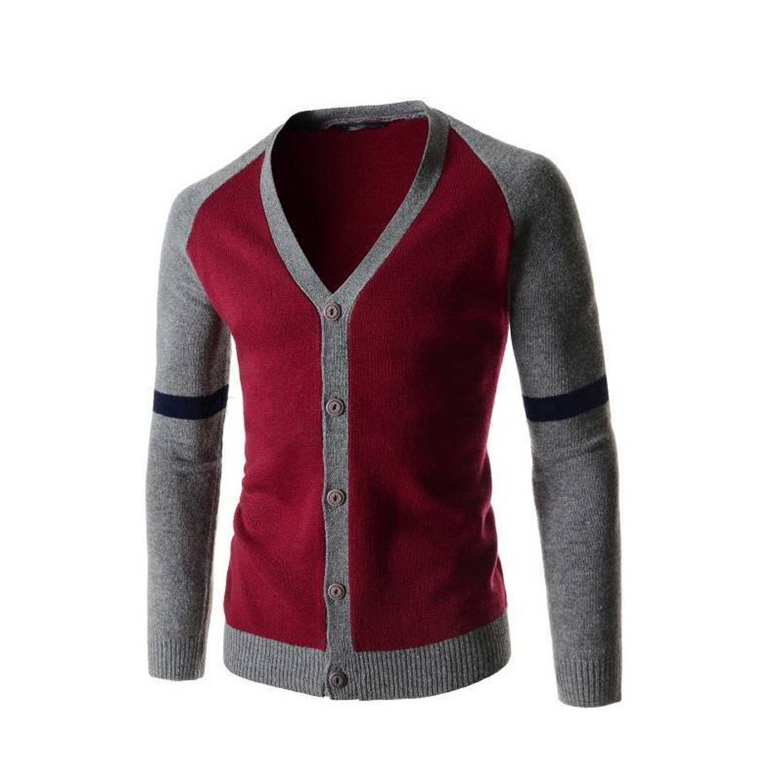 2017 New Spring Men Cardigan Long Sleeve Tops Sweater Thin Knitted ...