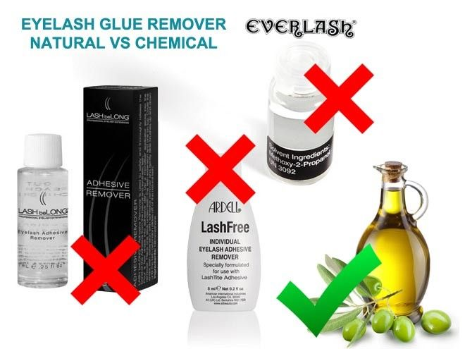 Eyelash Extension Glue Remover Natural Vs Chemical Beauty Skool