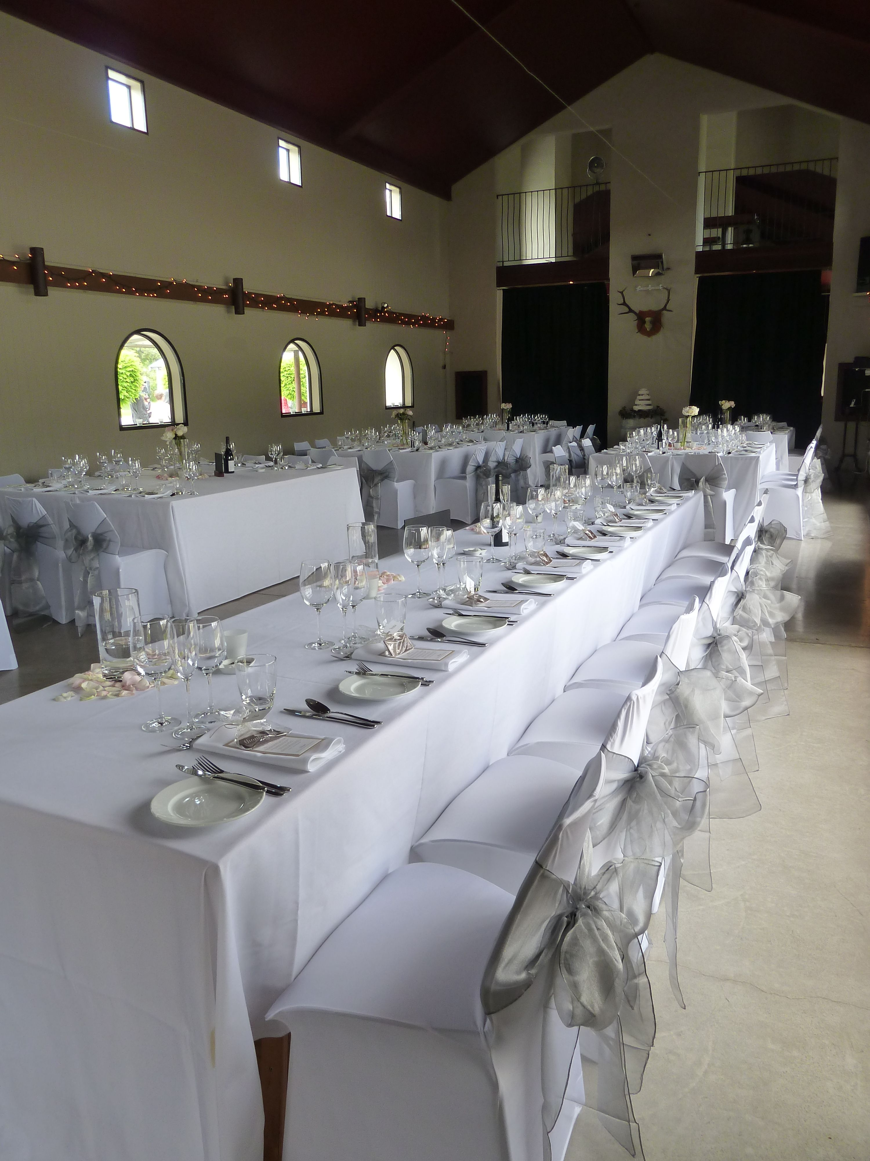 wedding chair covers melbourne swivel armless silver organza sashes or table runners with white