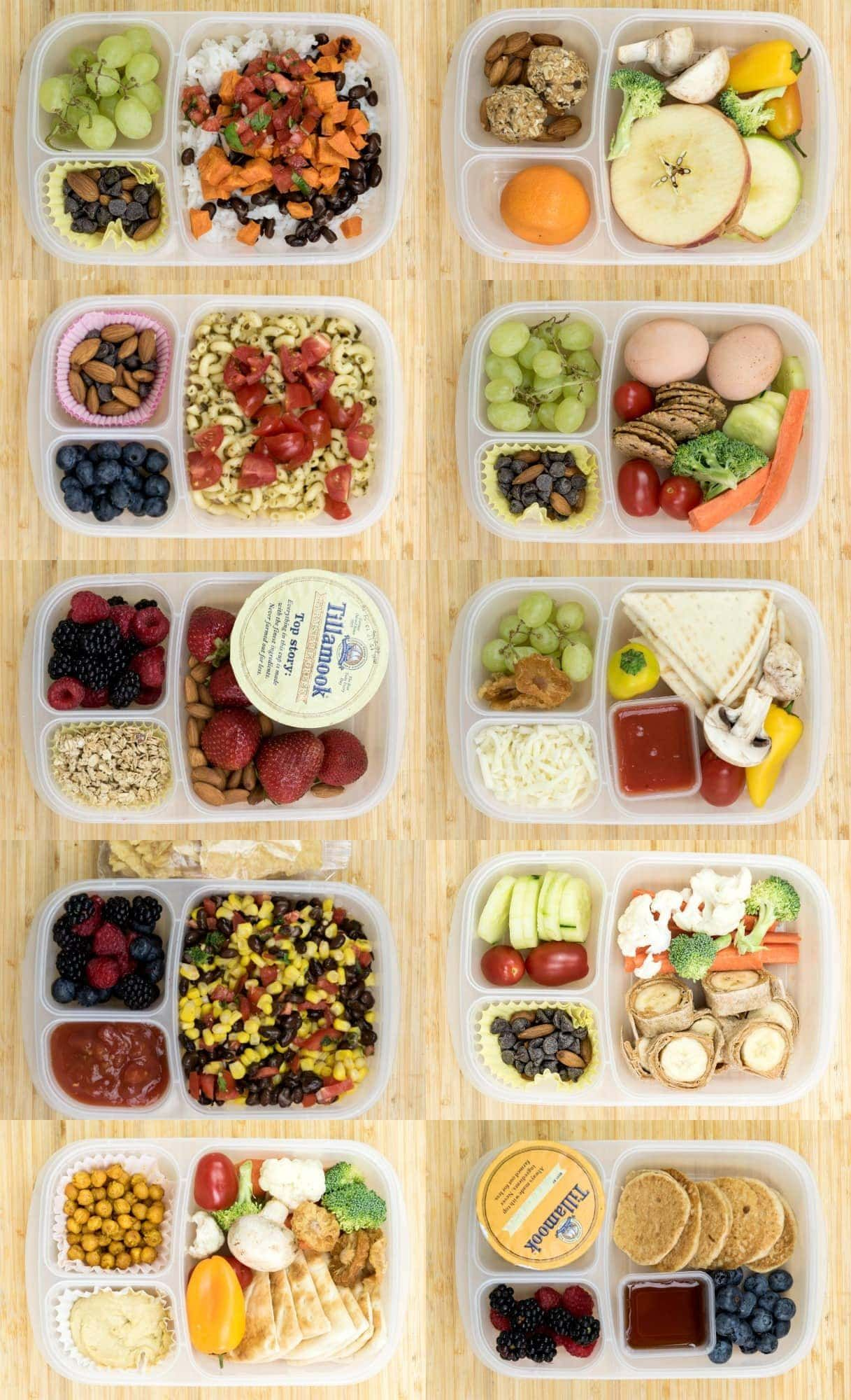 12 Healthy Lunch Box Ideas for Kids or Adults images
