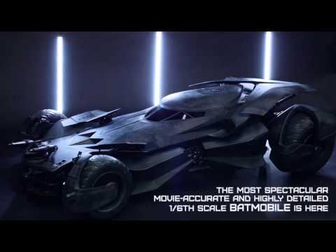 Hot Toys Fully Reveals Batman Superman And Batmobile Figures - Brand new batmobile revealed awesome