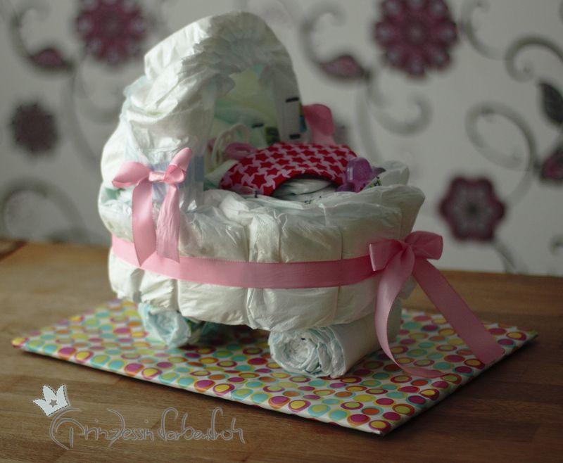 windeltorte windelwaagen baby windeltorte. Black Bedroom Furniture Sets. Home Design Ideas