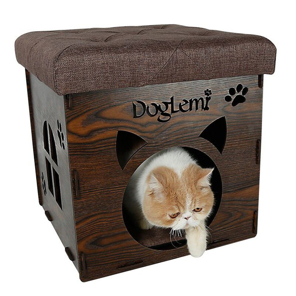 Aomeiter Sturdy Premium MDF Combination Cat Bed and