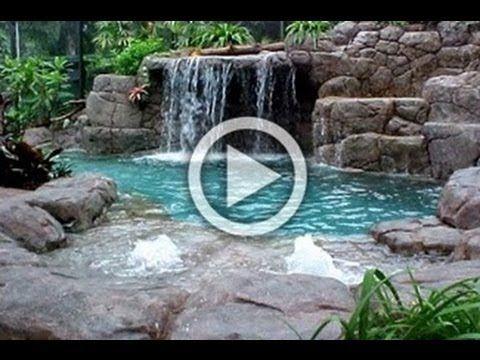Estanques y cascadas en dise o de jardines hd 3d arte y for Fuentes y cascadas para jardin