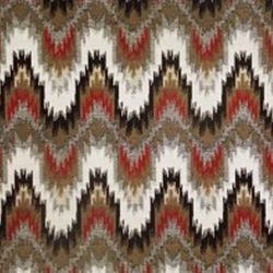 Cascade Flame Stitch Zenith Woven Upholstery Fabric