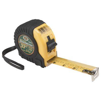 Grip 33ft X 1 1 4in Tape Measure Tape Measure Tape 4in