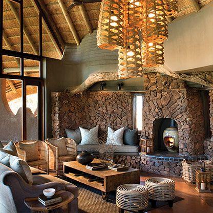 kopano lodge at madikwe int rieurs ethnique en 2019 einrichtung westwing et speicherofen. Black Bedroom Furniture Sets. Home Design Ideas