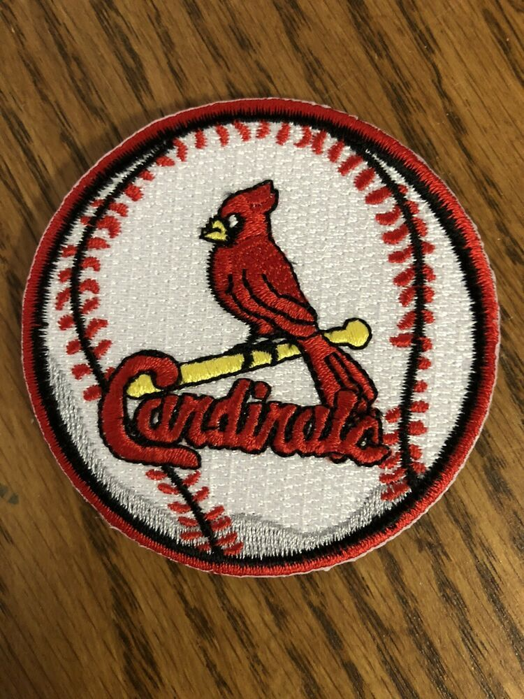 """CARDINALS MLB Patch St. Louis Cardinals 2.75"""" Round Iron"""