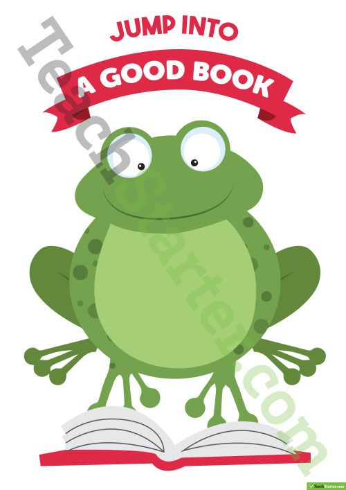 Book Report Template Frog Themed Teaching Resource school