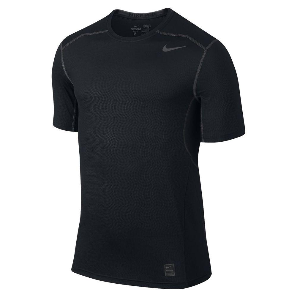 Nike Training Hypercool T Shirt Black 2xl Td089 Rr 14 Fashion
