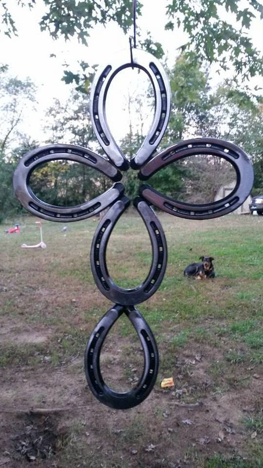 Absolutely Amazing Horse Shoe Cross by LawsonsMetalCreation  www.facebook.com/lawsonsmetalcreations