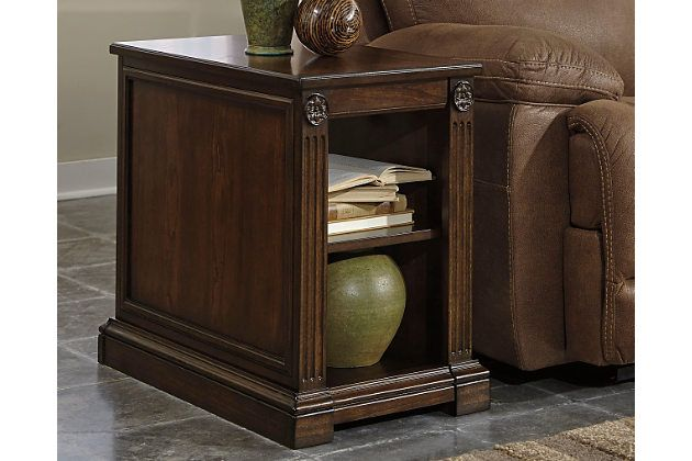 Brown Lamonte Chairside End Table by Ashley HomeStore