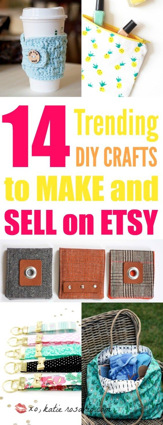 14 Trending Crafts To Make And Sell On Etsy Craft Ideas