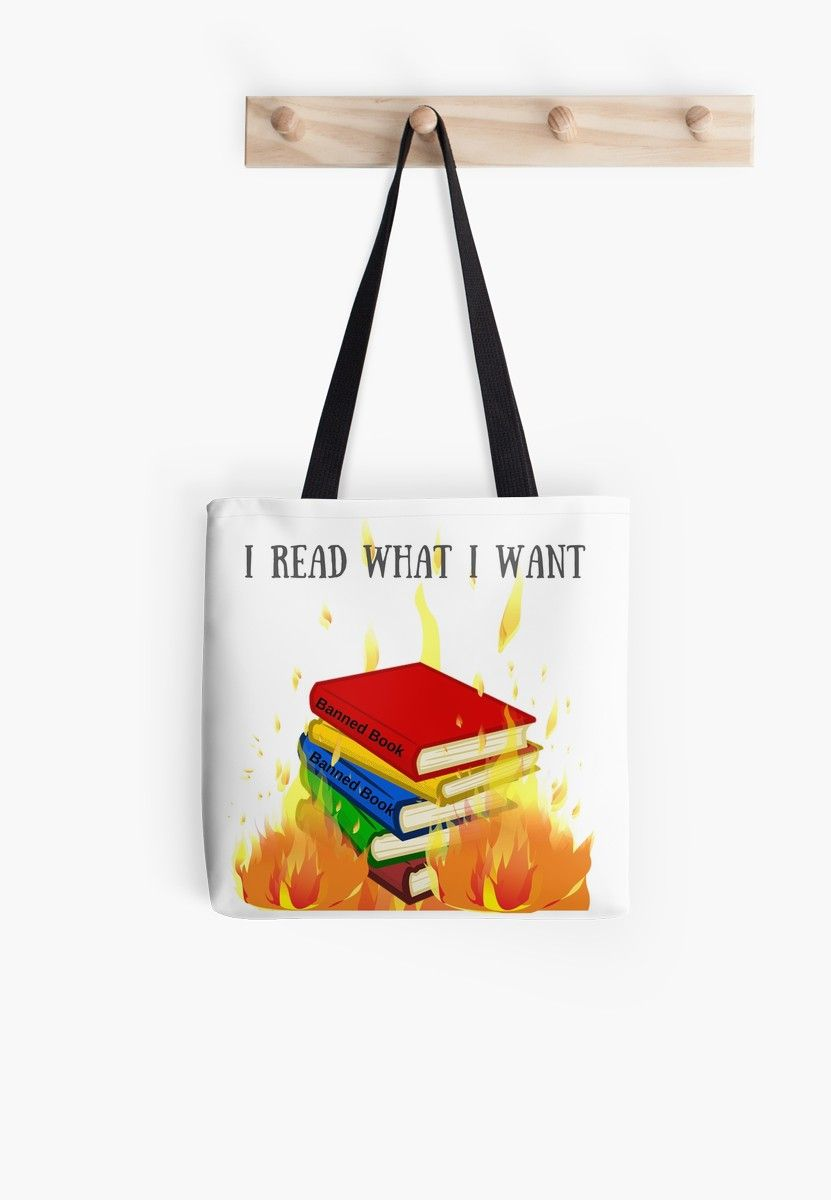 e388872bf3 I Read What I Want  Tote Bag by rynnsbooks