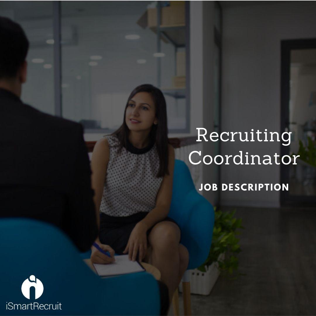 Checkout recruiting coordinator job description template