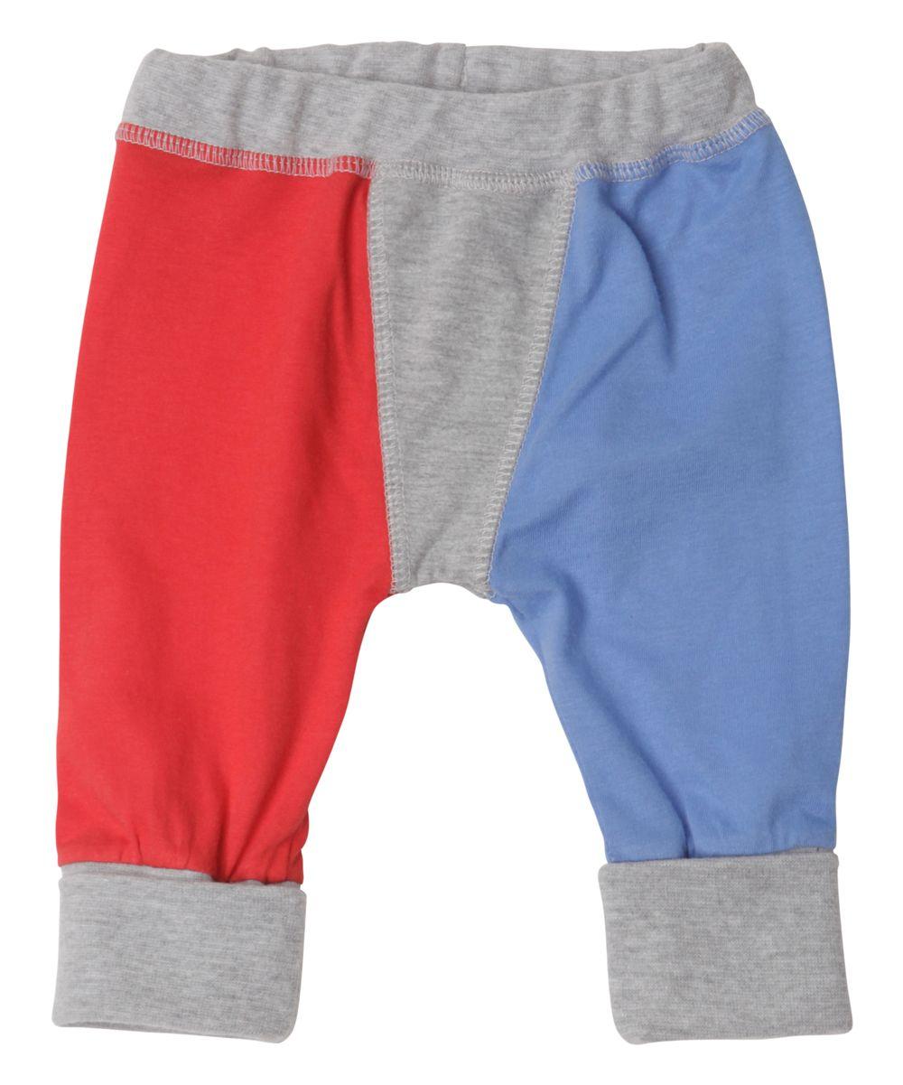 Red & Blue Harem Pants - Infant
