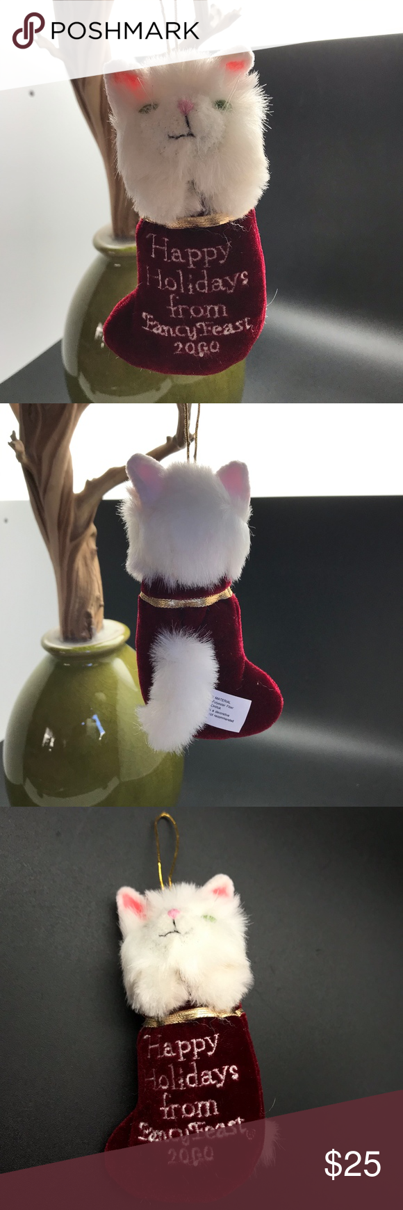 Fancy Feast Christmas Ornament 2020 2000 Fancy Feast Collectible Christmas Ornament in 2020