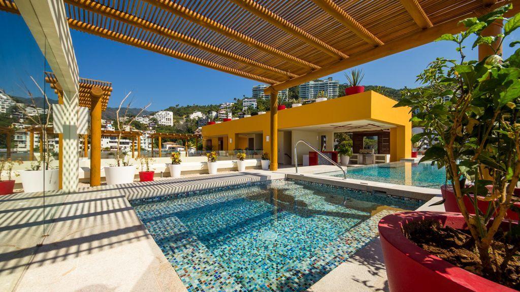 Puerto Vallarta Studio Rental: Ocean View Studio, 50 Feet To Los Muertos | HomeAway V177 Building