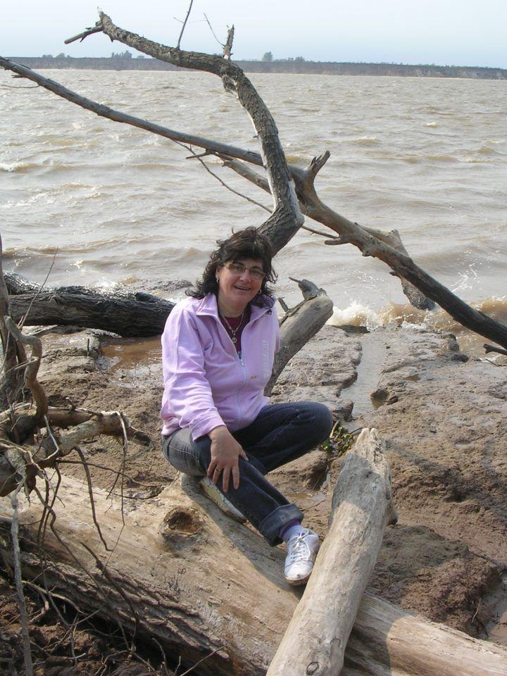 Como en mi casa....el Rio Paraná, Santa Fe.