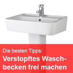 Waschbecken Verstopft Keller Kuche Hausmittel Reinigungstipps
