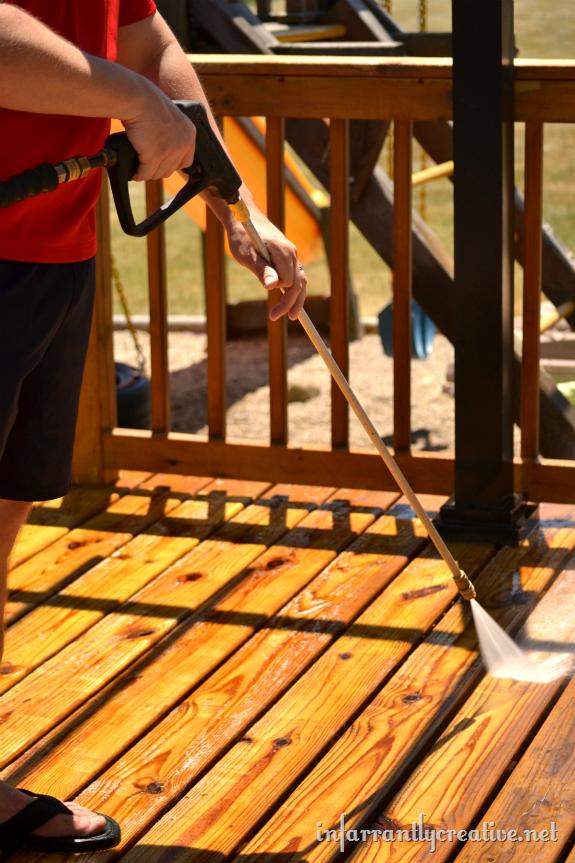 How To Strip A Deck Diy Deck