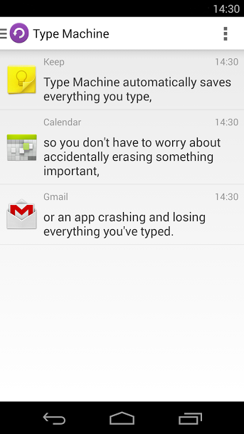 AndroidWorld Type Machine v1.0.9 APK Losing everything