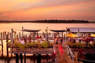 Waterfront Restaurants In Hilton Head Hudson S Seafood House On The Docks