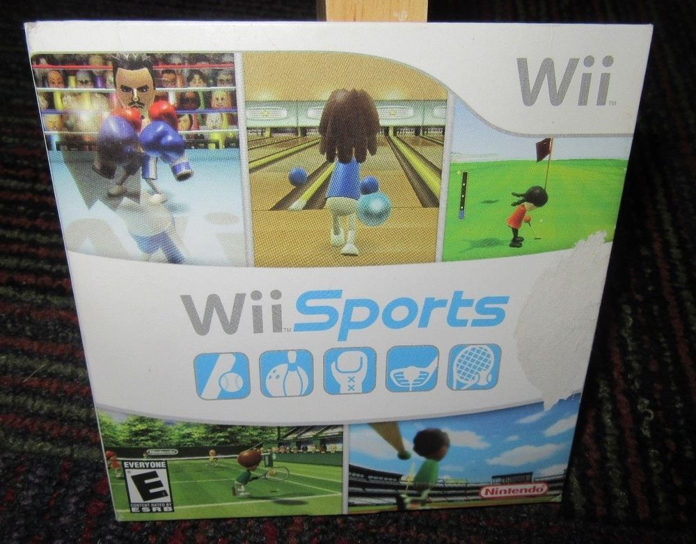 NINTENDO Wii SPORTS GAME FOR NINTENDO Wii, OEM 2006 WITH