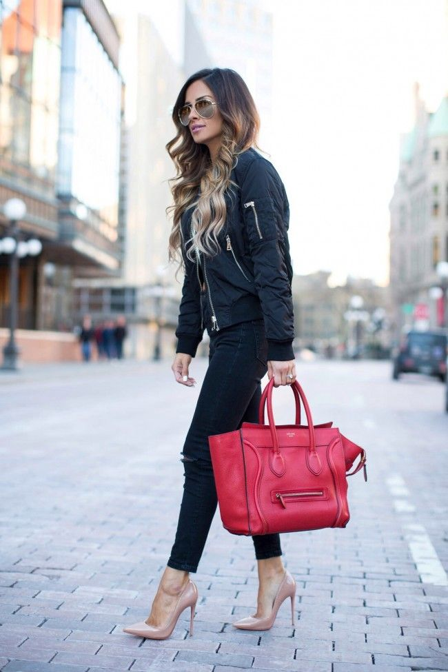 937b5bad9c Styling Tips How To Wear Bomber Jacket