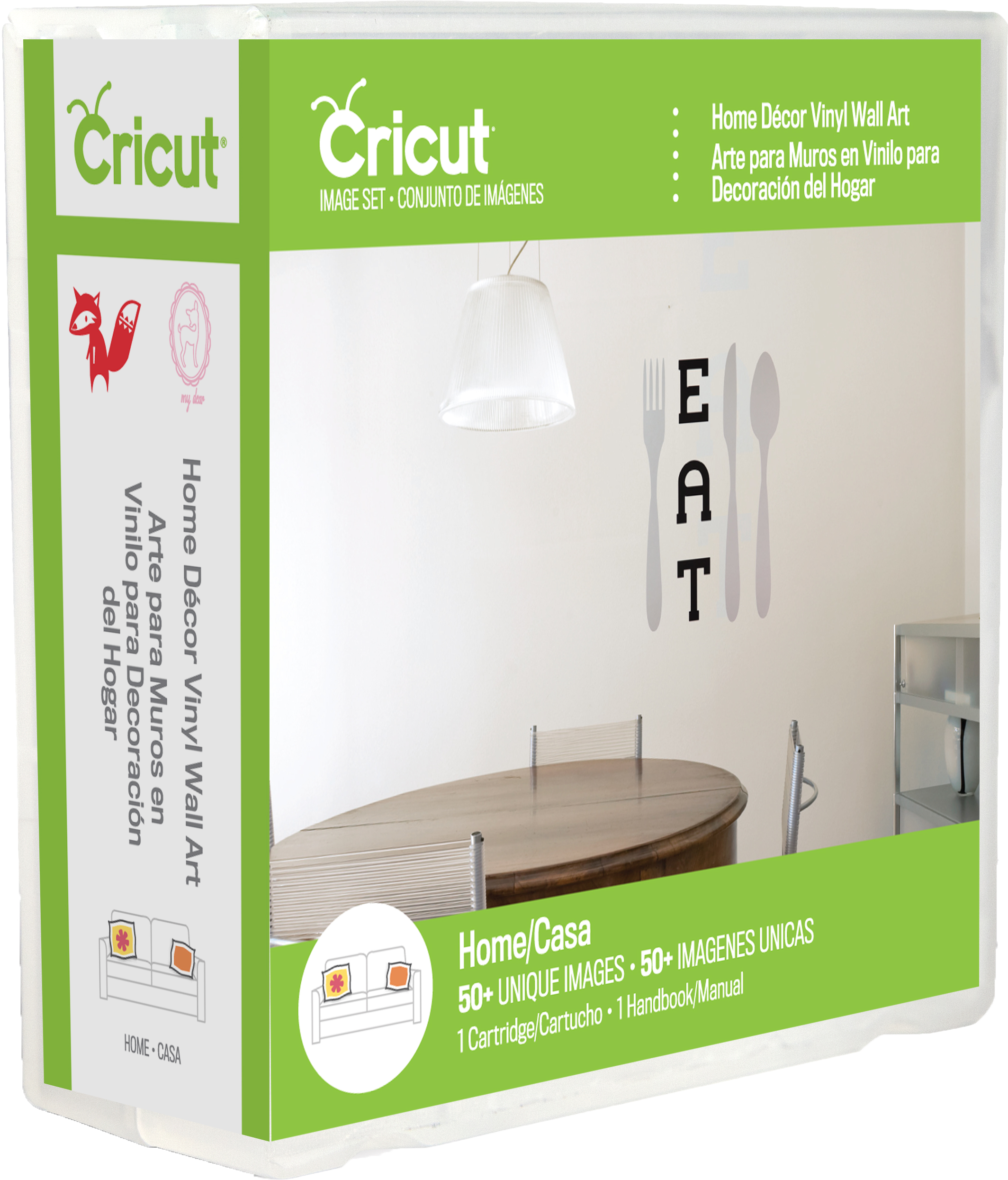 Charmant Cricut® Home Decor Vinyl Wall Art Cartridge   Universal Overlay Sold  Separately