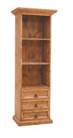 "25"" bookcase w/3dwr"