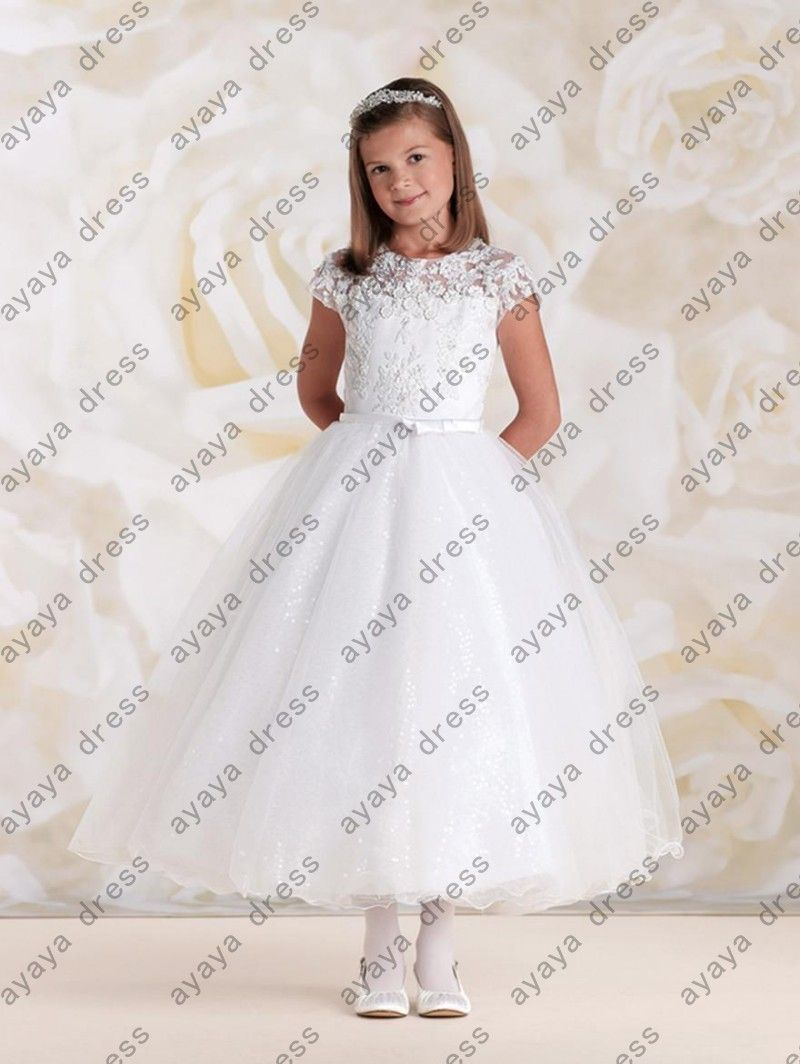 Click to Buy ucuc wejanedress White satin long china girl first